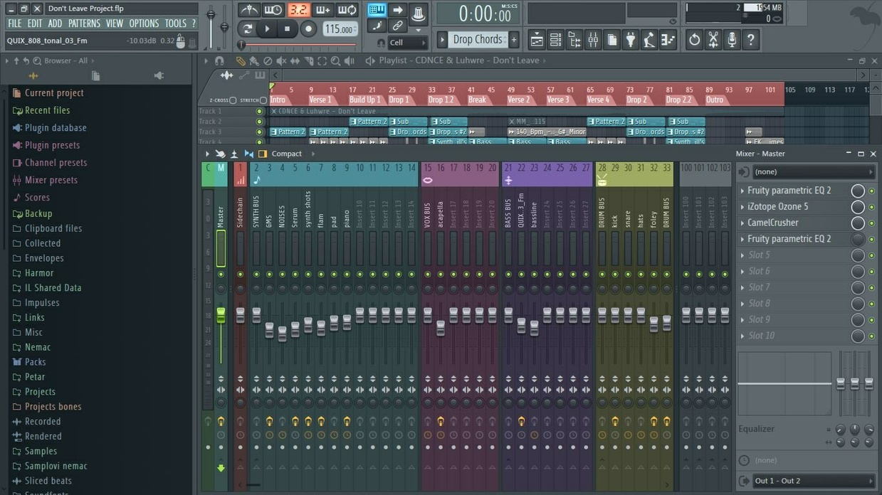 [Full] [FL Studio Template] Medasin / MrSuicideSheep Style (+FLP)