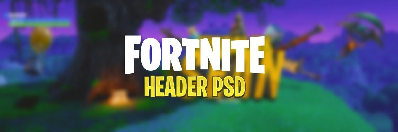 """Fortnite header for """"SeanIsDaBom"""" PSD"""