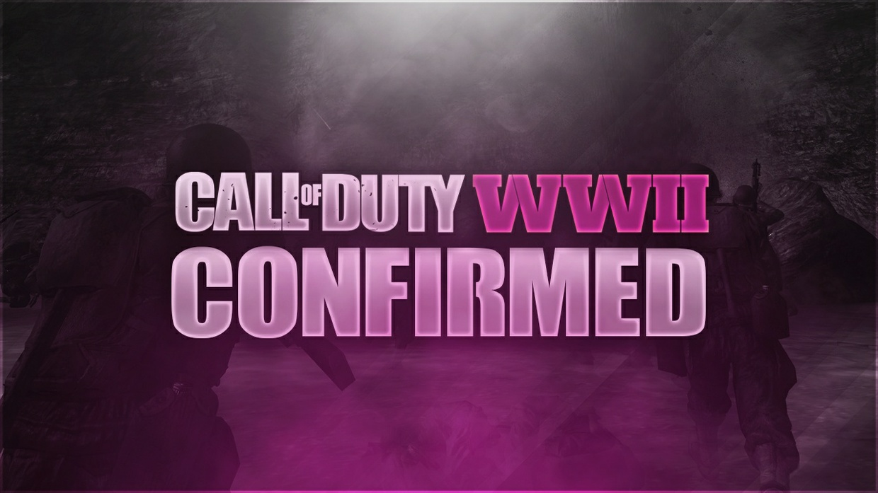 Call of Duty: WW2 Thumbnail Template