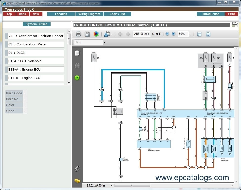 toyota hilux wiring diagram 2005 toyota hilux wiring diagram free download