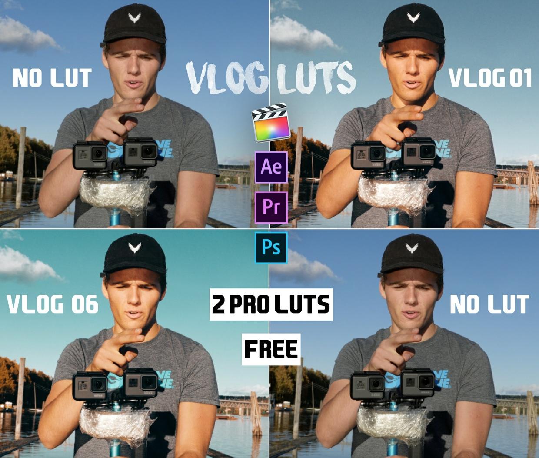 2 PROFESSIONAL VLOG / TRAVEL LUTs  + Adjustment Tool (by SverreGlomnes)  FREE DOWNLOAD