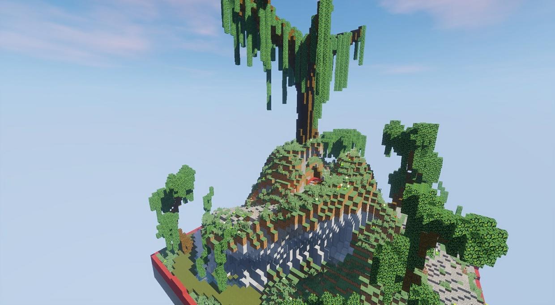 4 KOTH Pack - Evil, Sand, Pirate, Tree