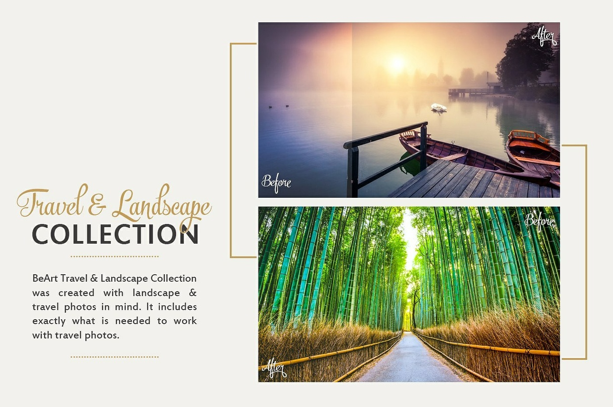 Landscape and Travel Photoshop Actions