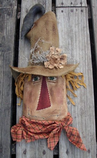 #285 Rusty the Scarecrow e pattern