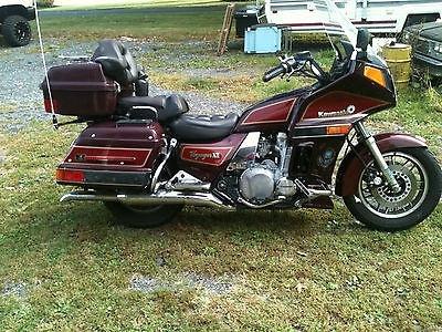 1986 KAWASAKI VOYAGER XII MOTORCYCLE SERVICE REPAIR MANUAL