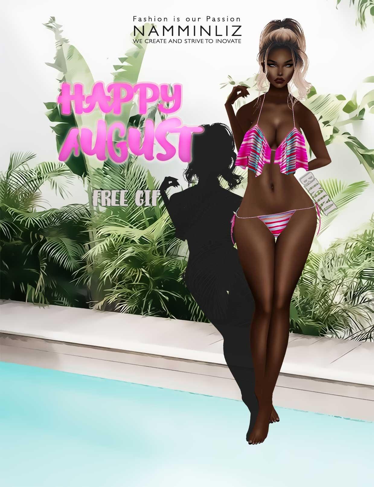Happy August imvu free gift ♥
