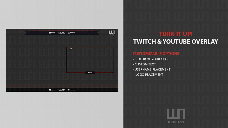 Twitch & Youtube Overlay