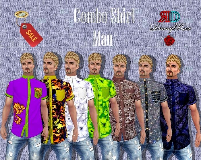 ❀ ❀ SHIRT MAN COMBO ❀ ❀