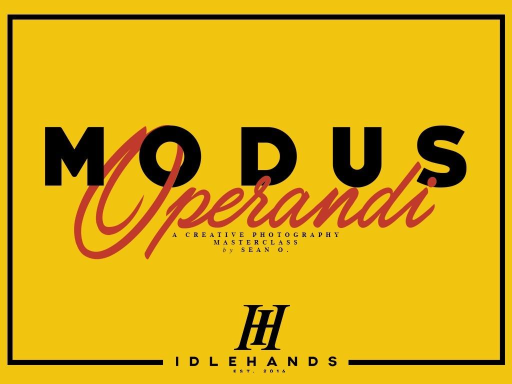 Modus Operandi by Sean O.