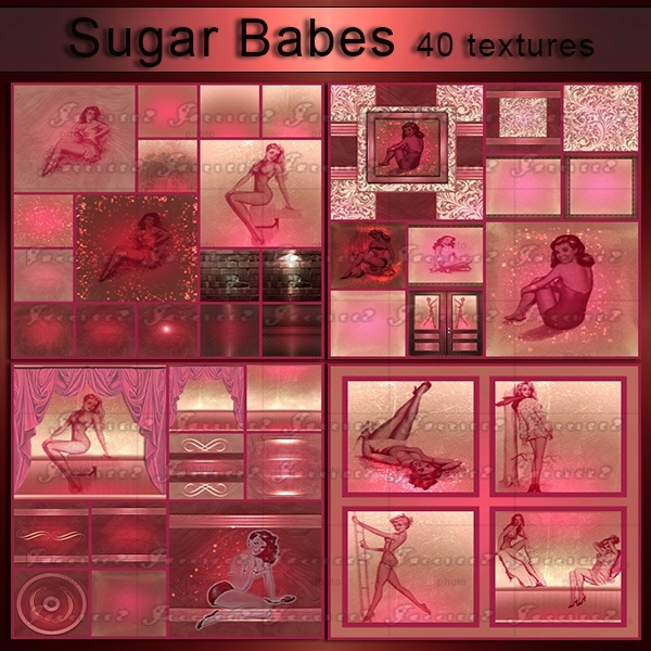 SUGAR BABES-40 Textures
