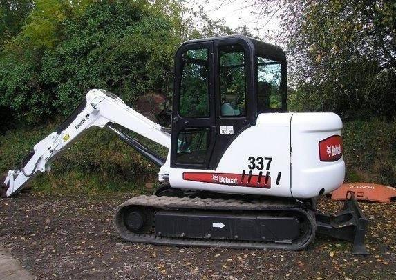 Bobcat 337, 341 Compact Excavator (D Series) Service Repair Manual (S/N 233311001 & Above...)