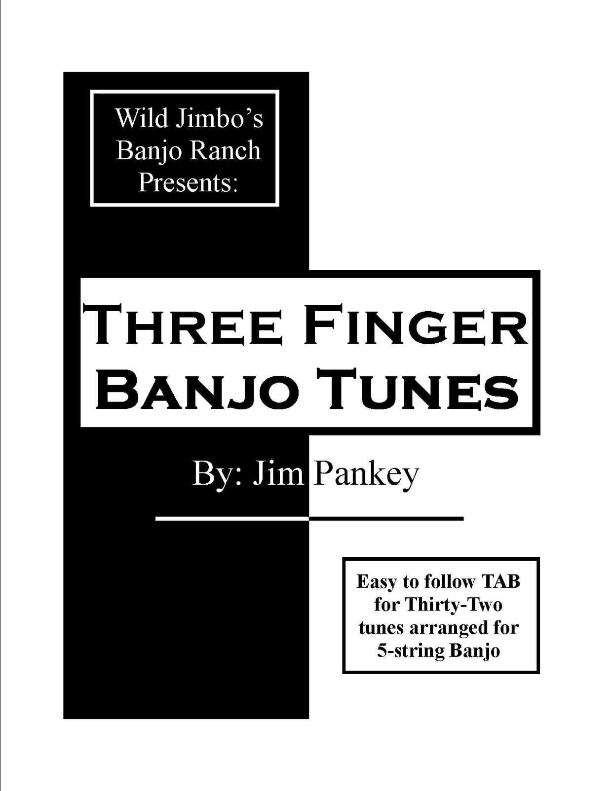 Three Finger Banjo Tunes