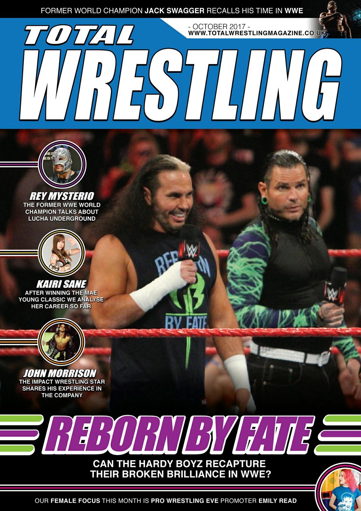 Total Wrestling Magazine October 2017