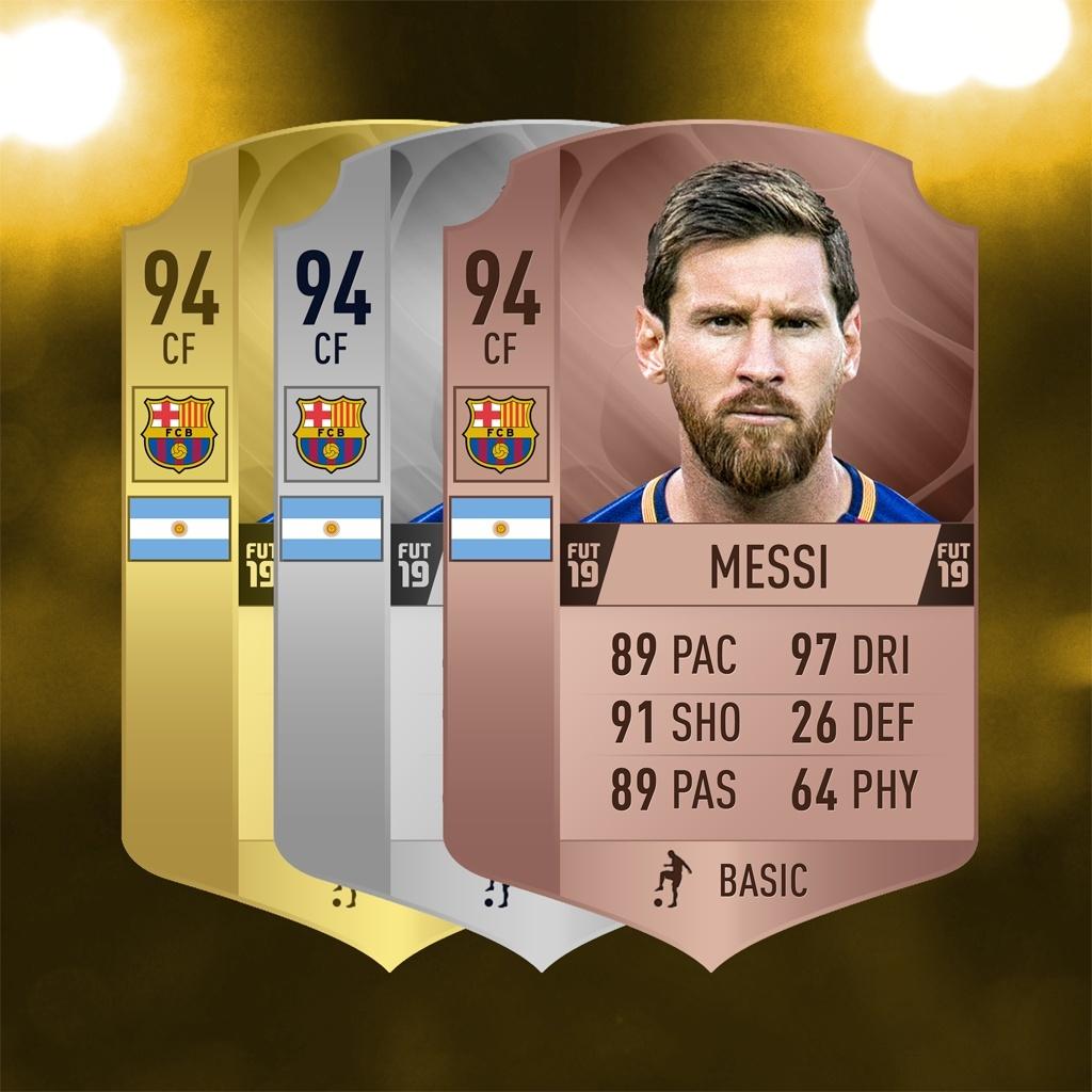 FIFA 19 CARD CONCEPT