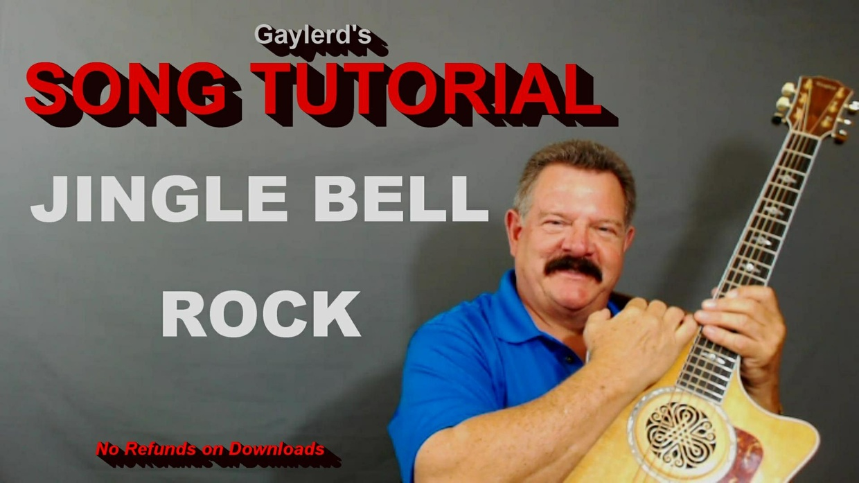JINGLE BELL ROCK by Bobby Helms - SONG TUTORIAL