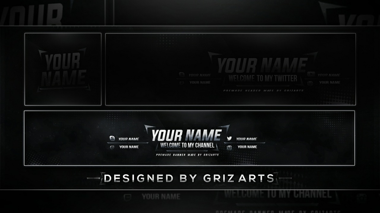 Griz Art's Free Revamp Template (Banner) - 2017 Download