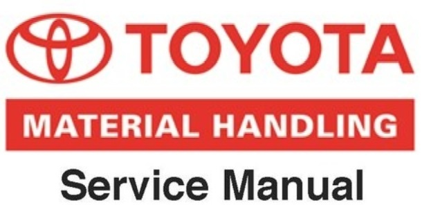 Toyota Electric Pallet Truck Type 6HBW20 Workshop Service Manual (S/N: 17001 and up )