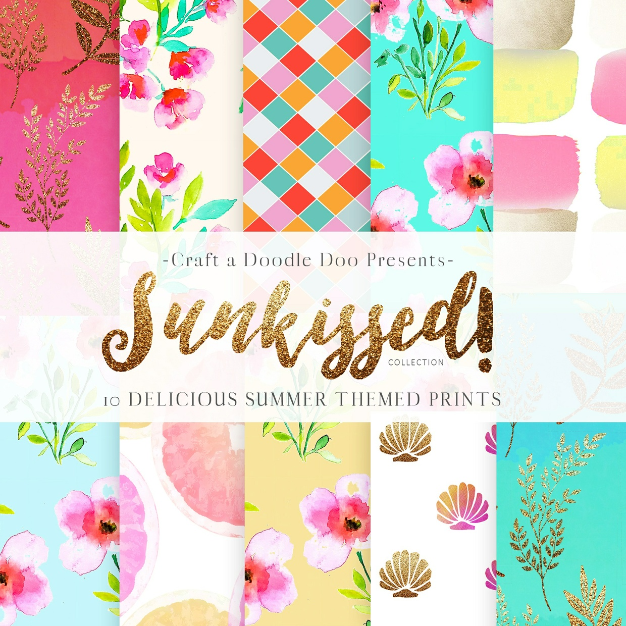 SUNKISSED SUMMER DIGITAL PRINTS COLLECTION