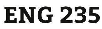 ENG 235 Week 2 Word Analysis Worksheet