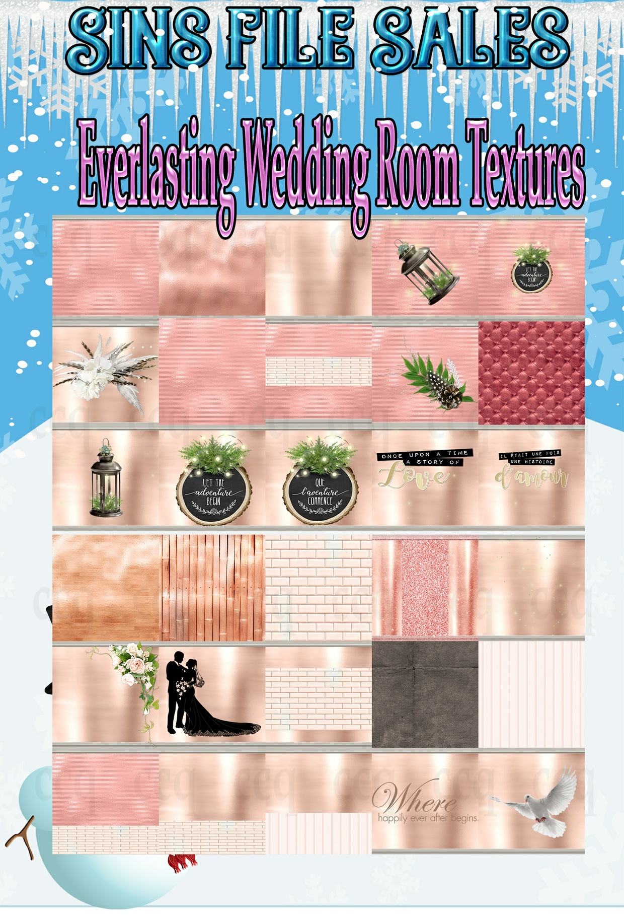 Everlasting Texture Pack*30 Png