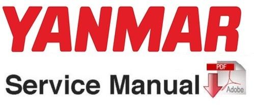 Yanmar B55W-1 Wheel Excavator Service Repair Workshop Manual