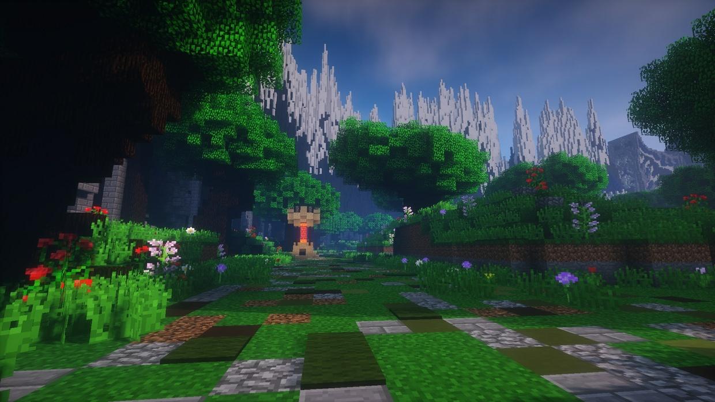 Summoner's Rift in Minecraft! MAP
