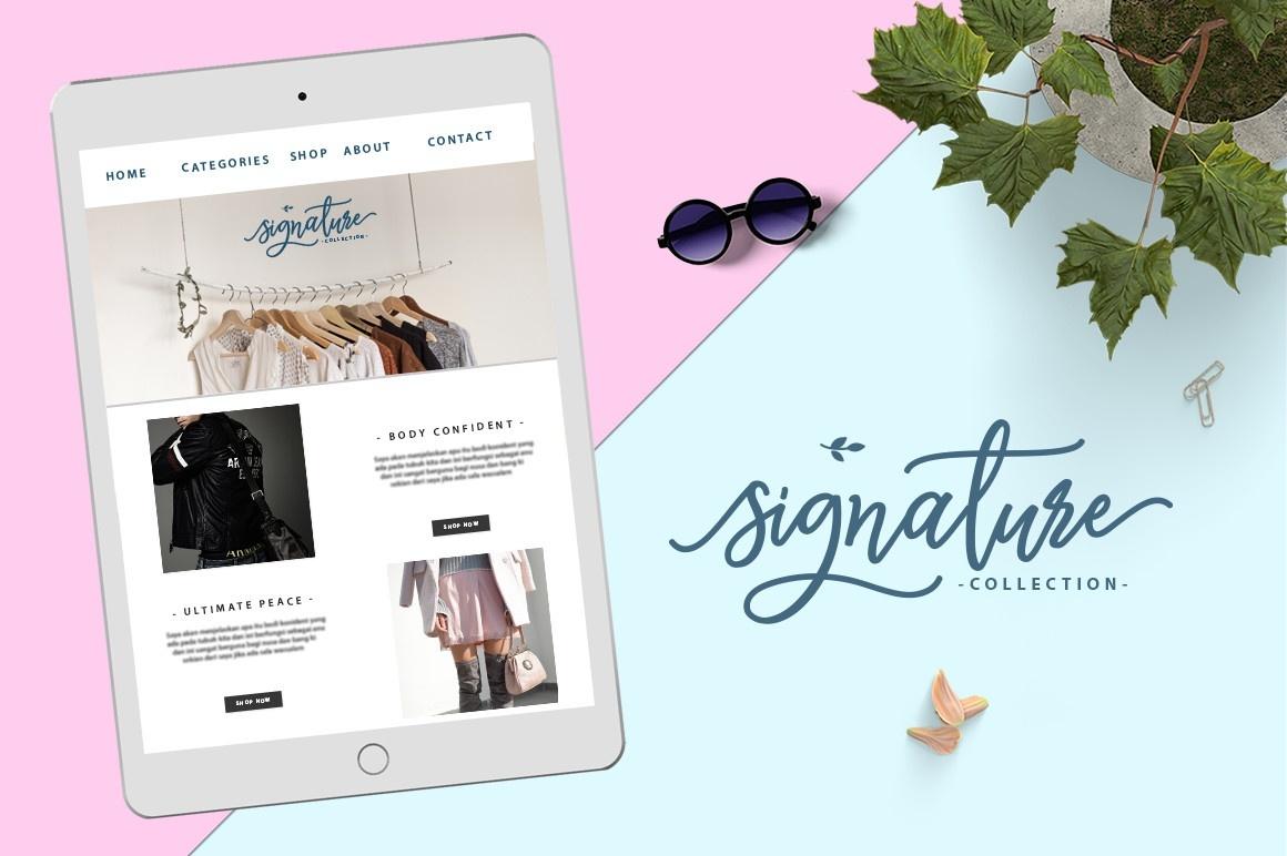 Monalisa Luxurious Font (FREE VERSION)