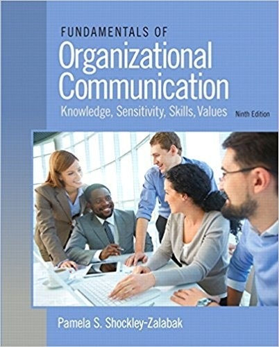 Fundamentals of Organizational Communication 9th Edition( PDF , Instant download )