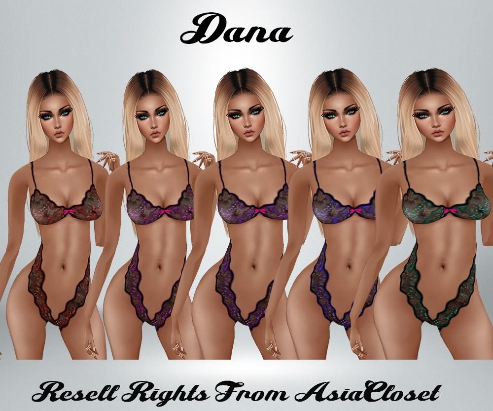 Dana AP Lingerie Catty Only!!! RL, RLS, RLL SIZES