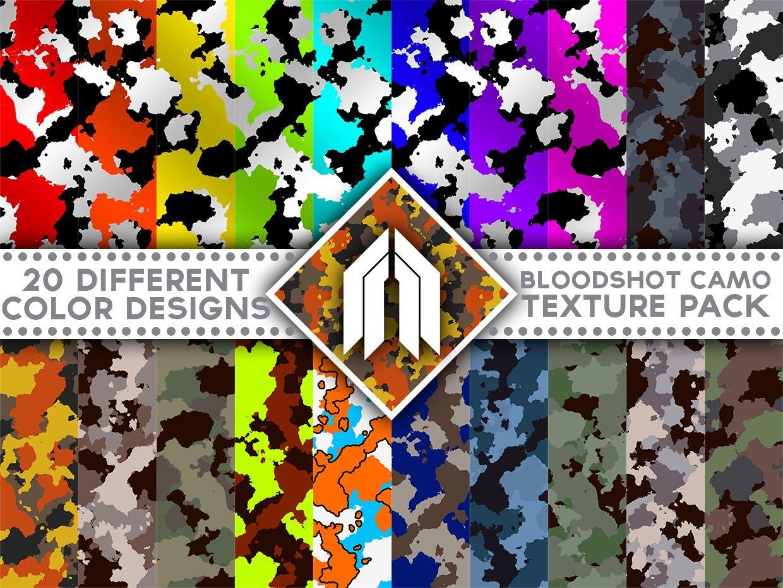 Camouflage Bloodshot Pack