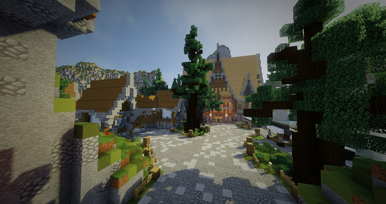 Village Themed UHC Spawn