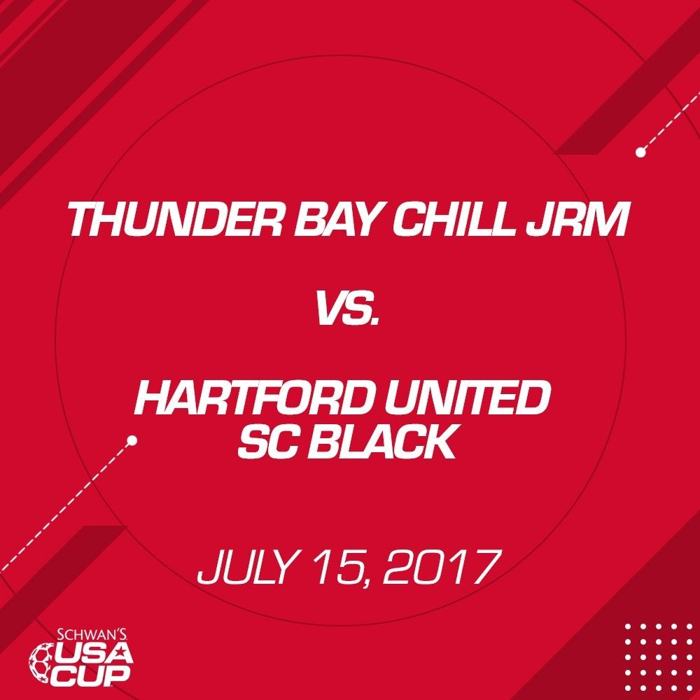 Boys U16 - July 15, 2017 - Thunder Bay Chill JRM V. Hartford United