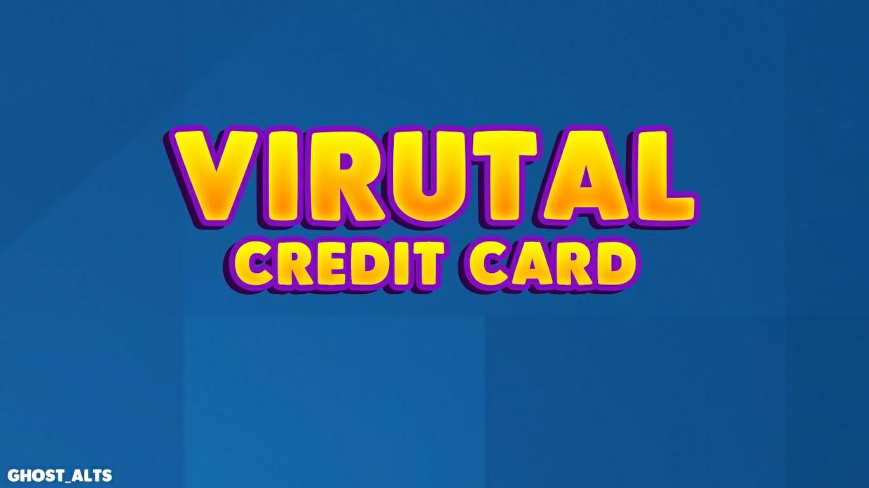 Virutal Credit Card