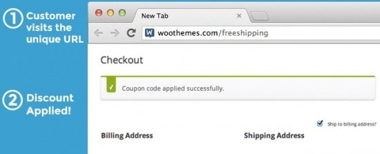 WooCommerce URL Coupons 2.5.2 Extension