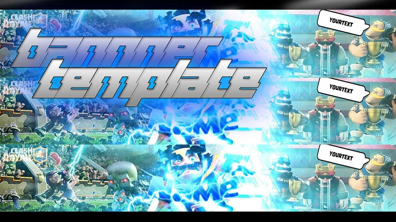 Best Clash Royale Banner Template