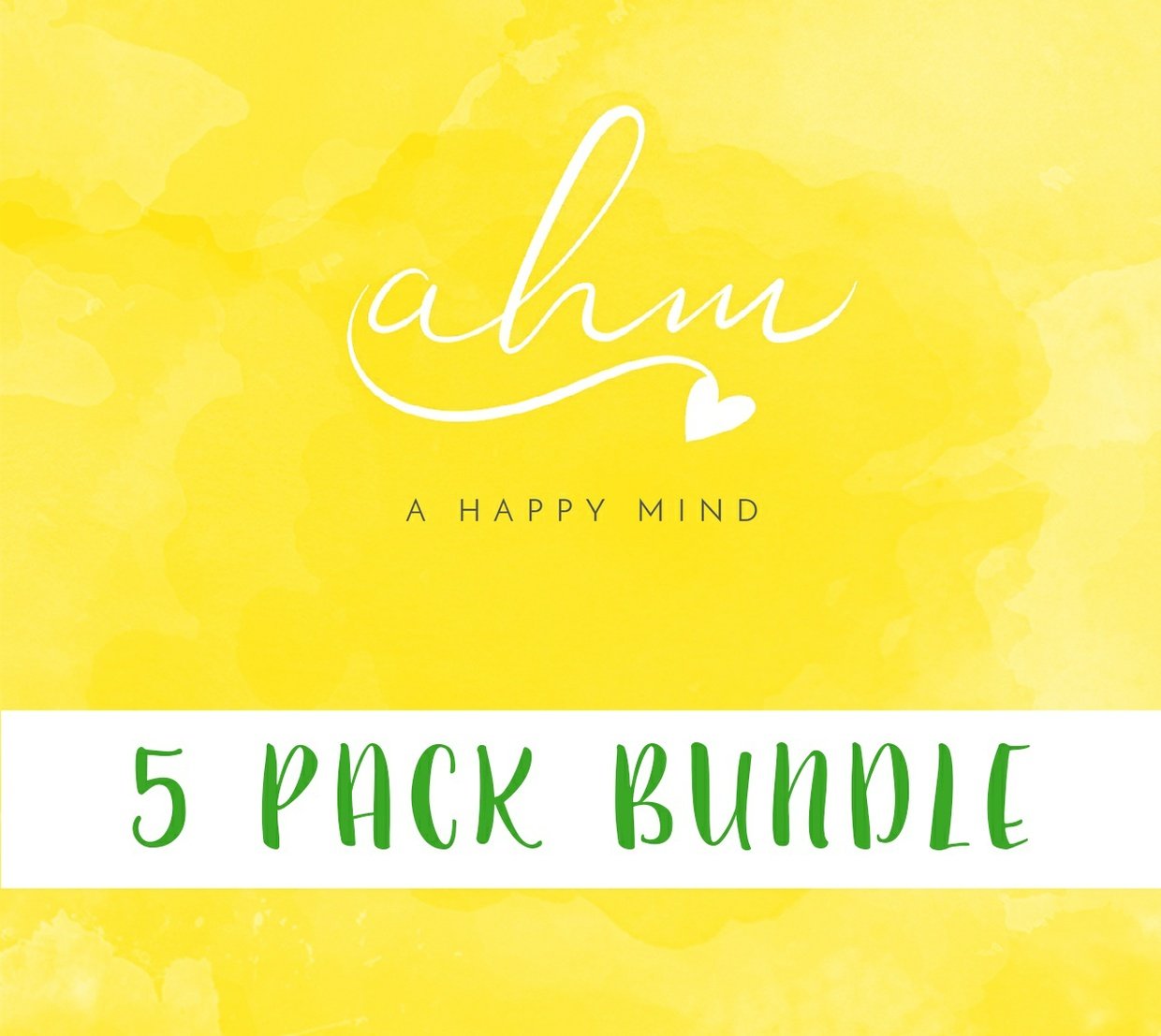 5 Pack Bundle