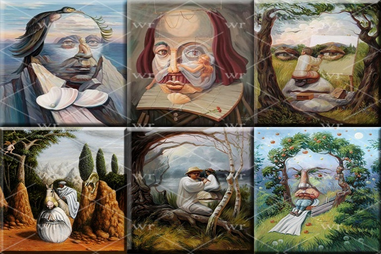 ILLUSION ART PAINTINGS