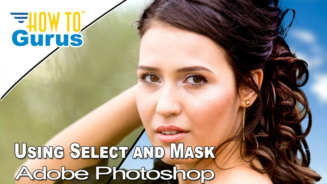Change a Background using Select and Mask instead of Refine Edge in Adobe Photoshop CC 2018 Tutorial