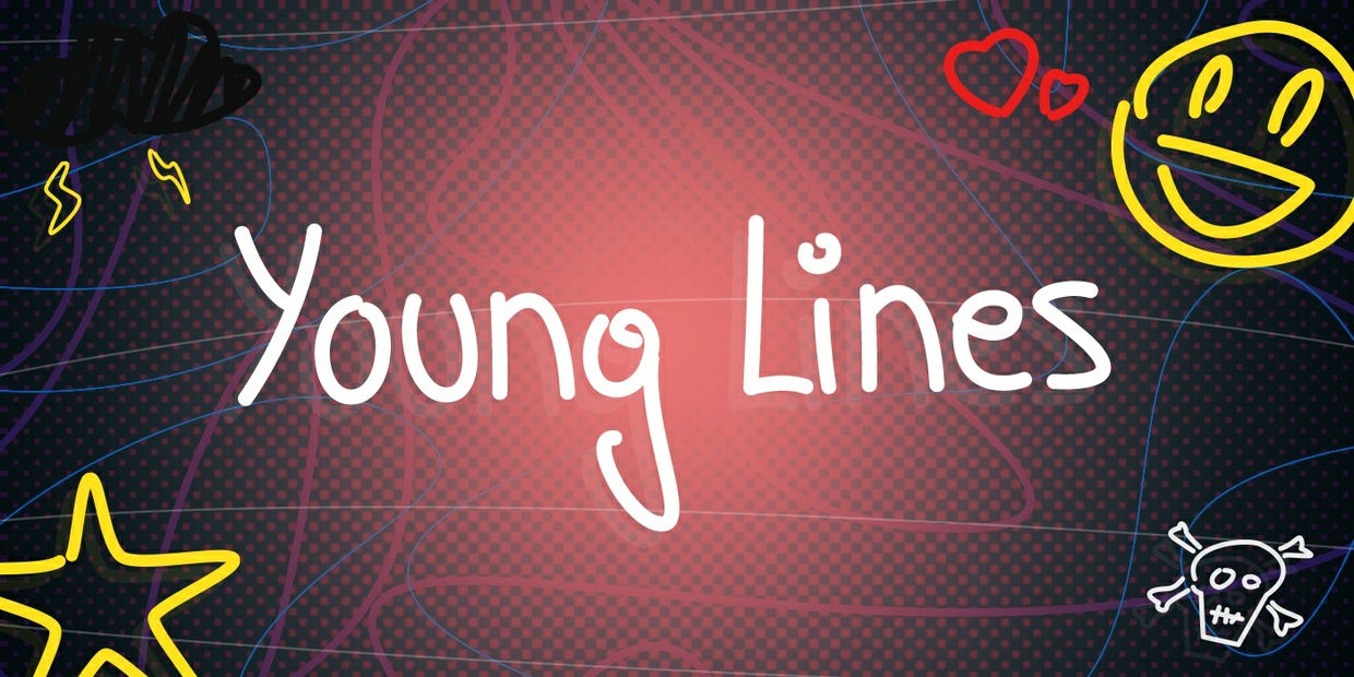 FONT - Young Lines