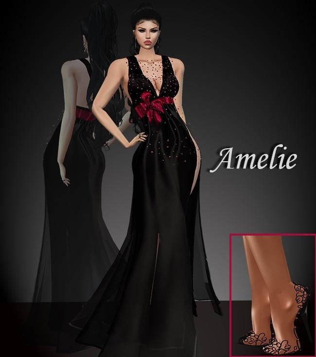 Amelie Dress & Shoes