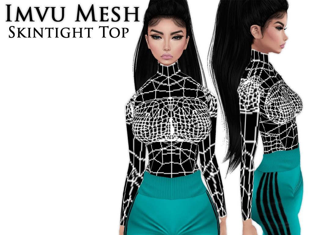 IMVU Mesh - Tops - Skintight V1