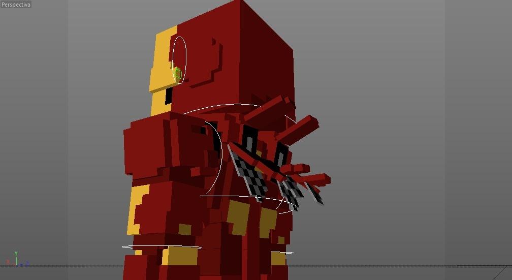 MC Iron Man Mark 3 Rig (Iron Man)(#FD)