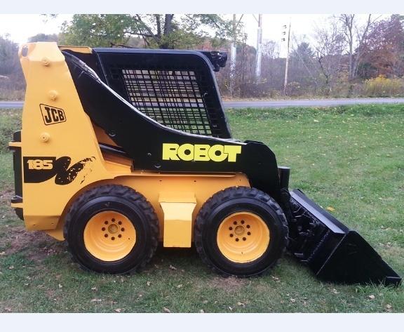 JCB Robot 185, 185HF, 1105, 1105HF Skid Steer Loader Service Repair Workshop Manual DOWNLOAD