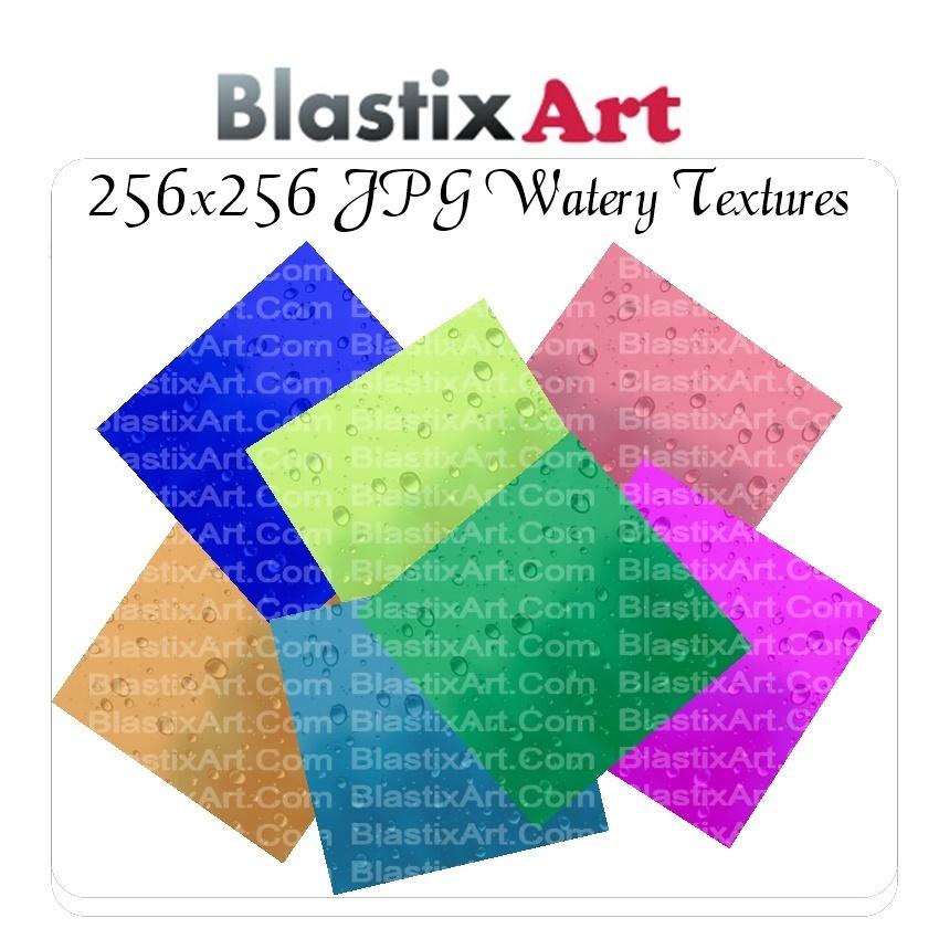 256x256 JPG Watery Texture