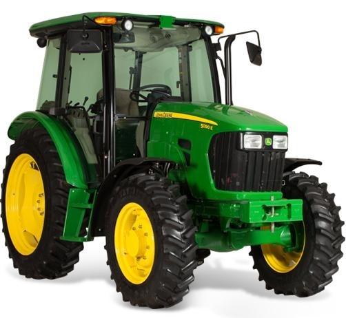 John Deere 5076E, 5076EL, 5082E, 5090E, 5090EL, 5090EH Tractors Repair Manual (TM607419)