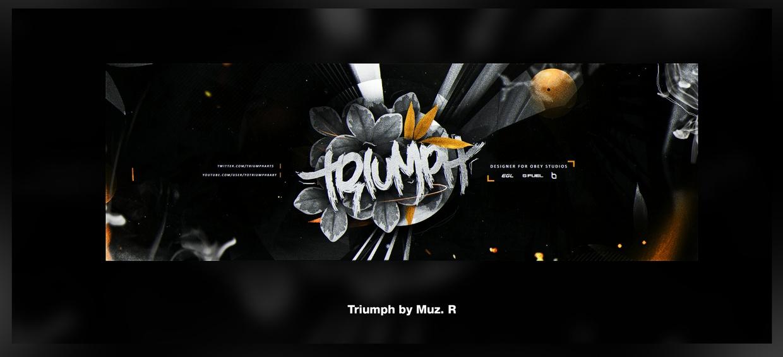 Triumph Header PSD