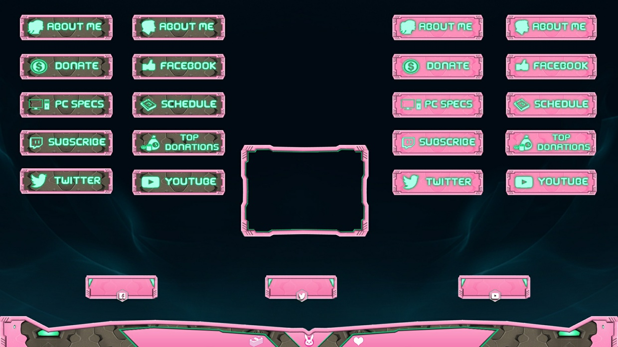 D.VA BUNDLE - PANELS + OVERLAY