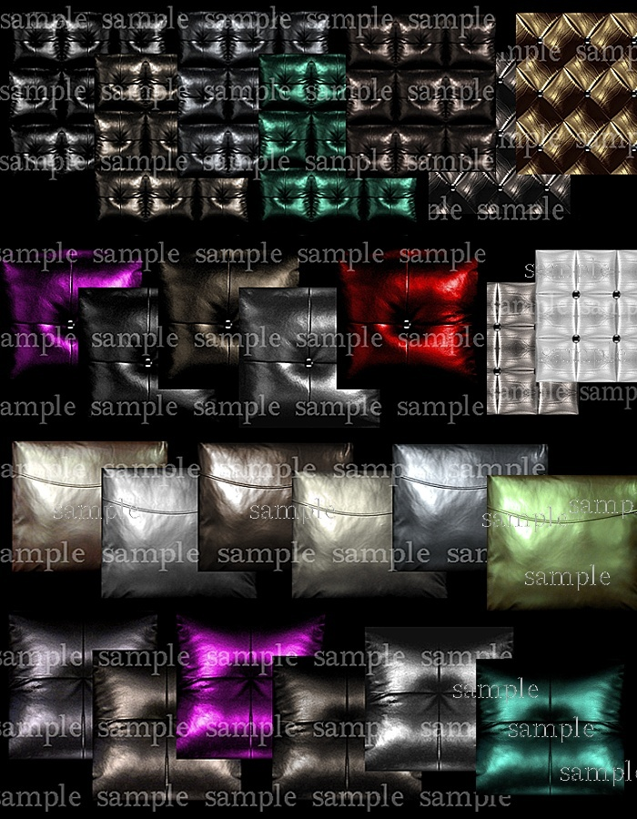 Couch Leathers & Pillows Pack
