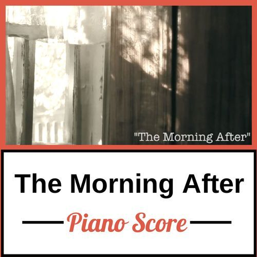 The Morning After - Piano Score
