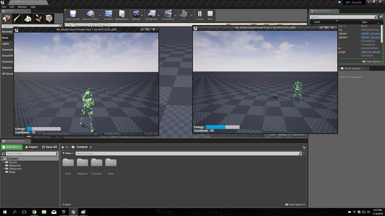 UE4 MP Stealth